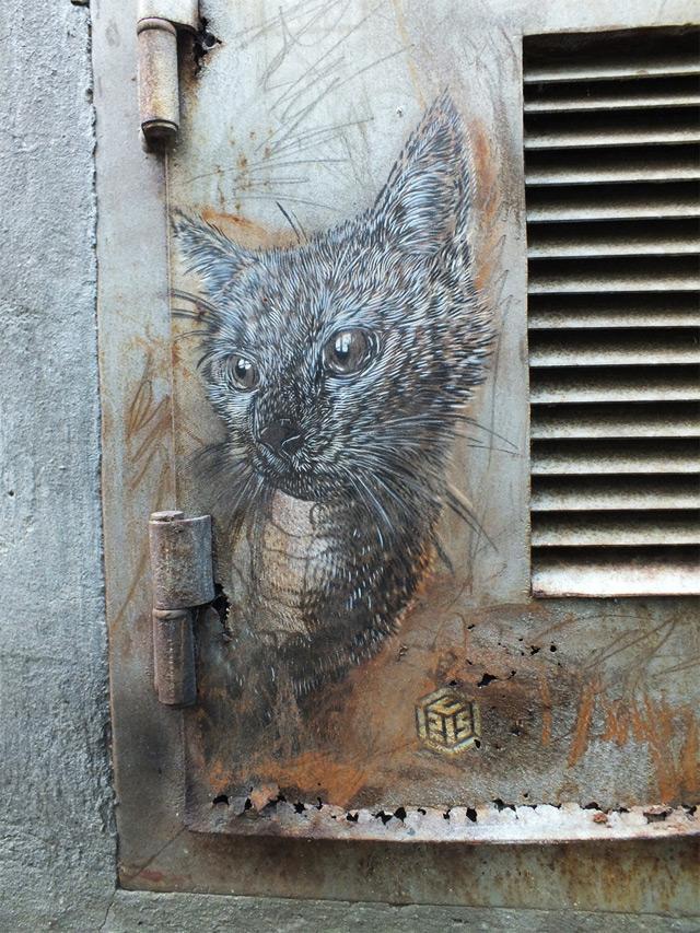 New Works - Street Artist - C215