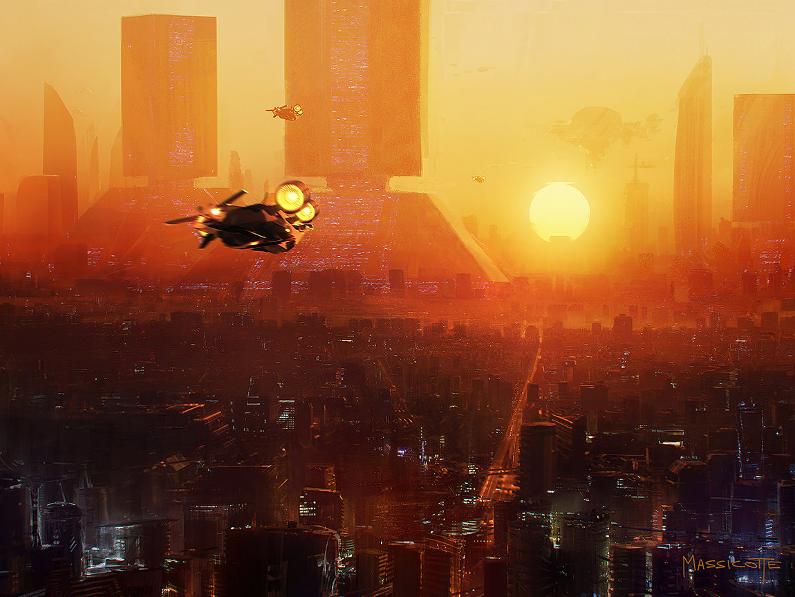Blade Runner Inspired Concept Art and Illustrations I (19 pics)
