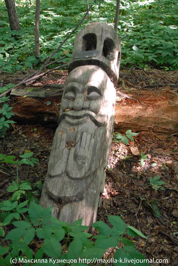 Деревянный дед