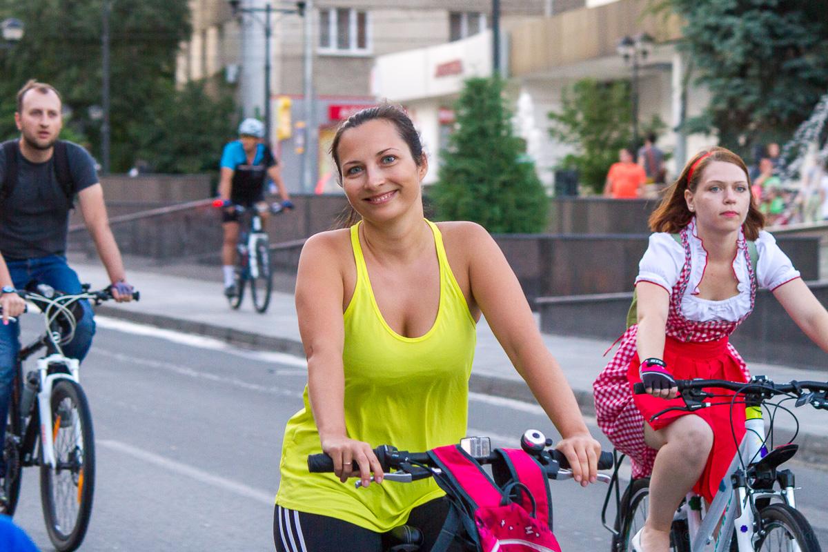 велопарад Леди на велосипеде фото 12