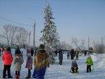 Новогодний праздник в микрорайонах Цементный и Китой