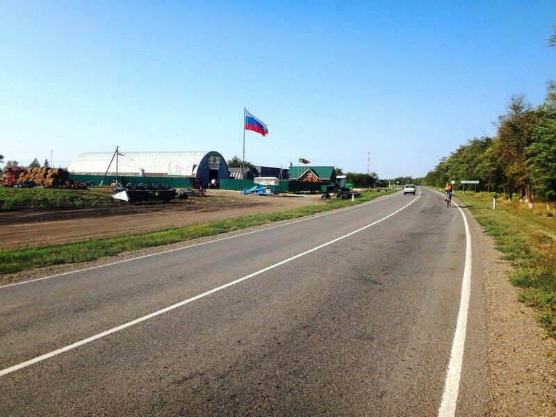 У станицы Копанской  ... 22. Фото из велокольца. Ахтари-Староминская-Бейсугский пролив (141).JPG