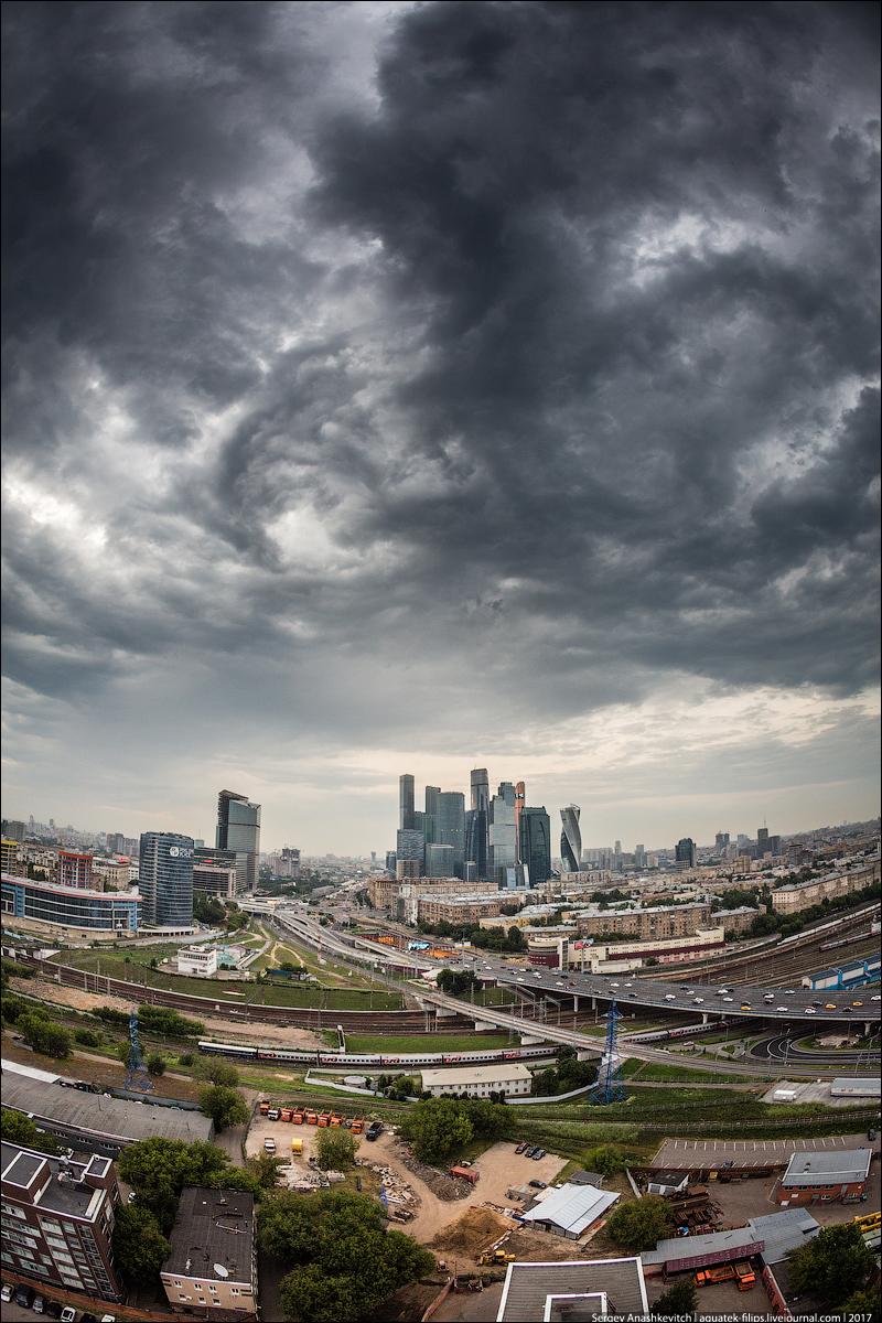 Московское небо