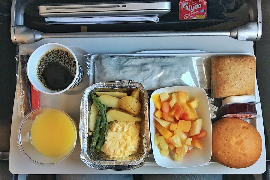 Бортовое питание Air France