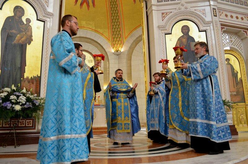 Рождество Пресвятой Богородицы в Кафедральном соборе Христа Спасителя