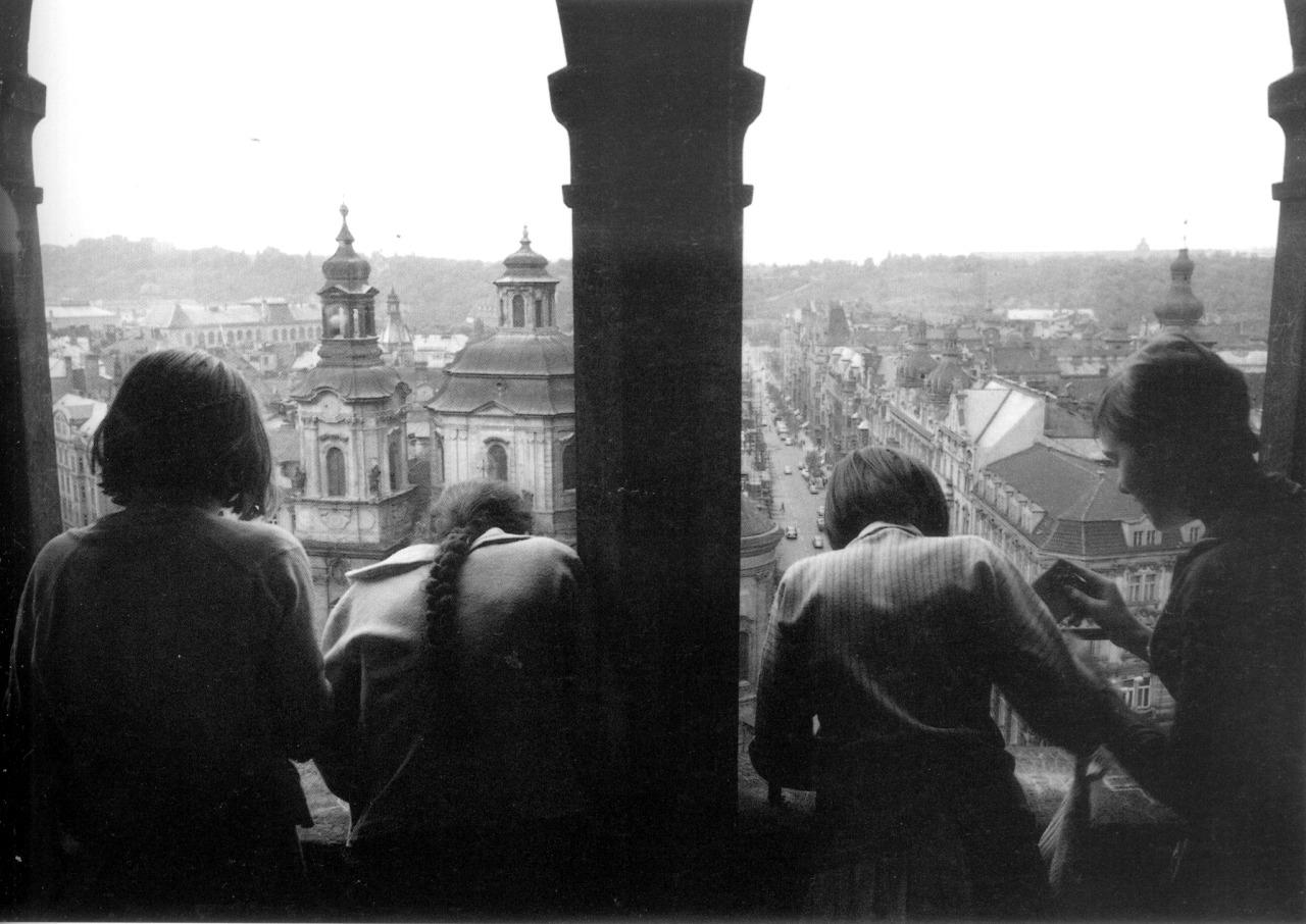1967.  Девочки в Праге