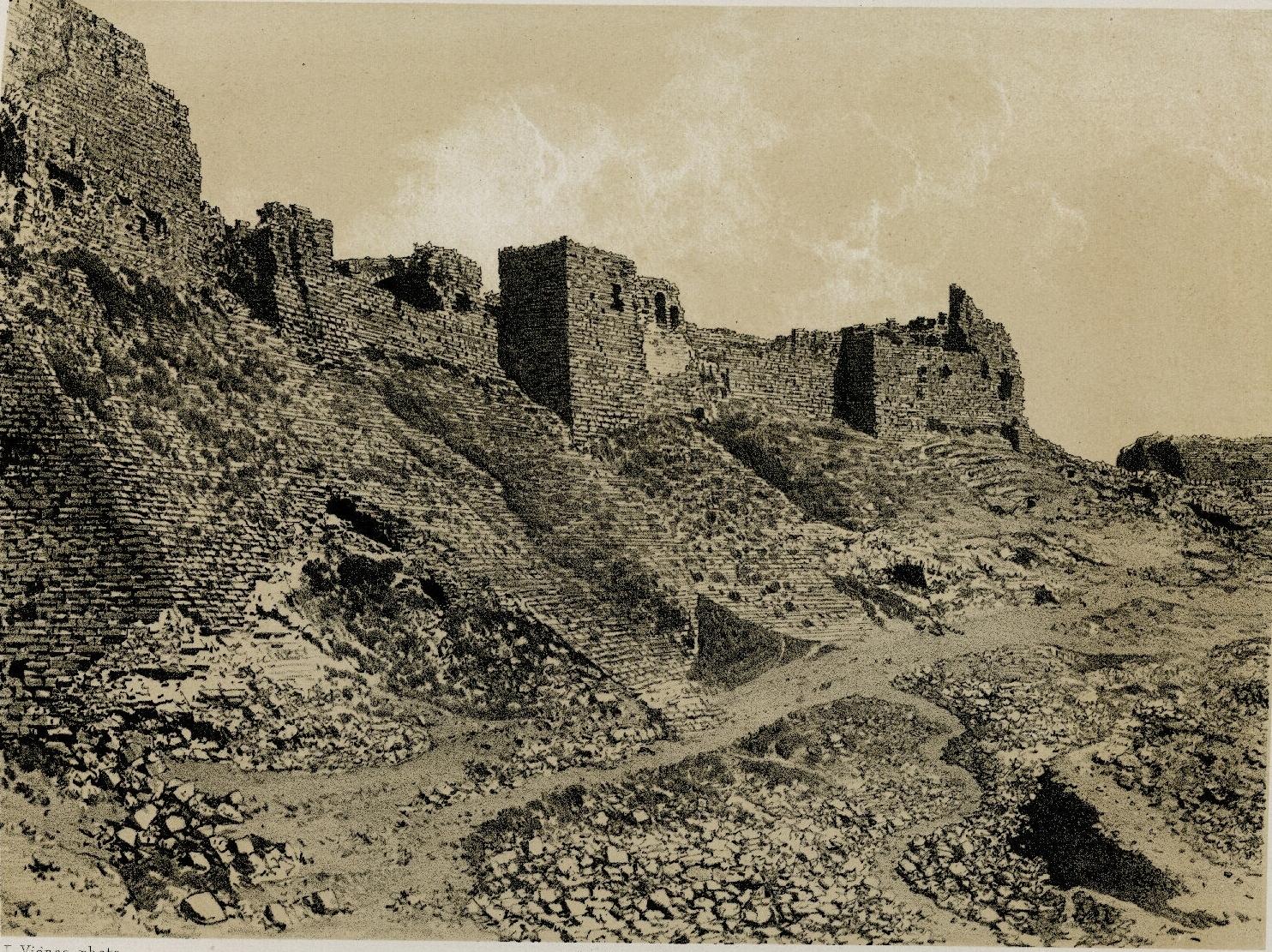 59. Эль-Карак. Юго-восточная сторона крепости