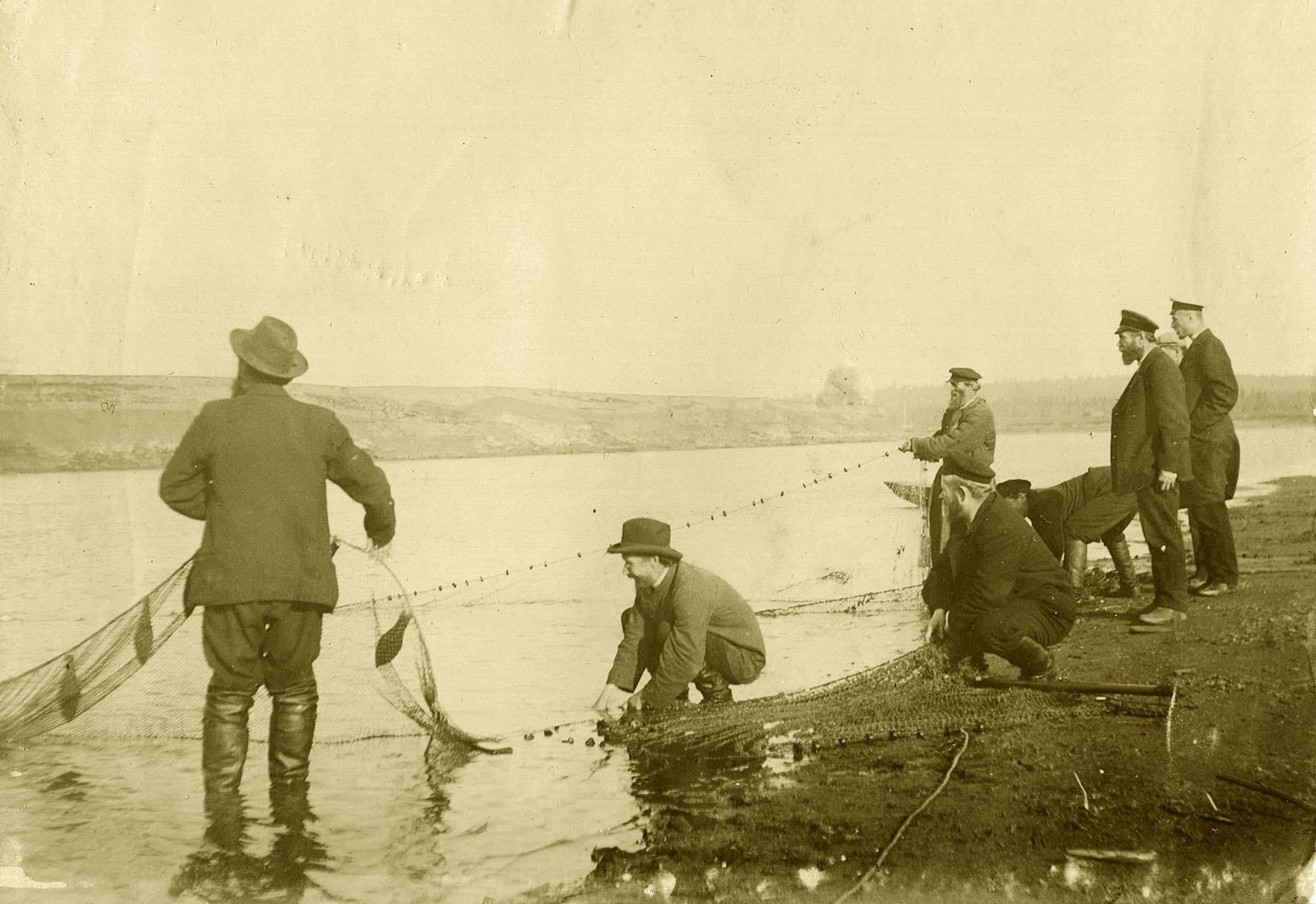 Рыбалка, начало 20 века. Пригород Перми