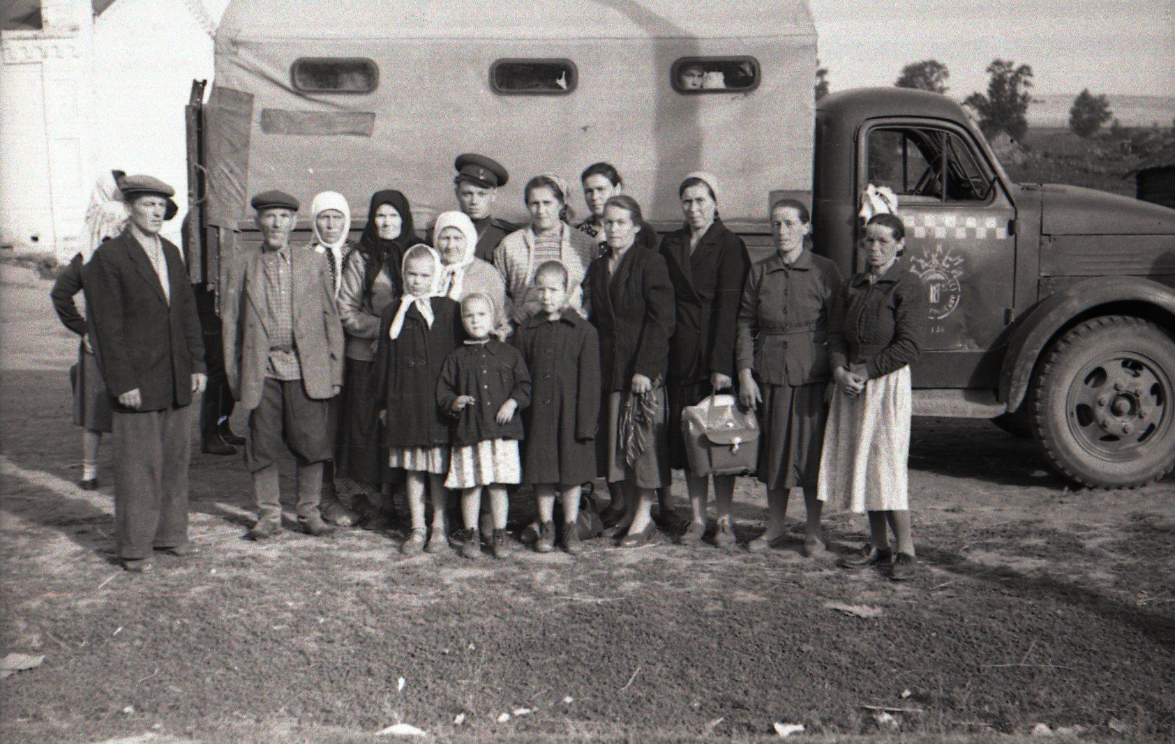 1960. Грузовое такси Воткинск-Полозово