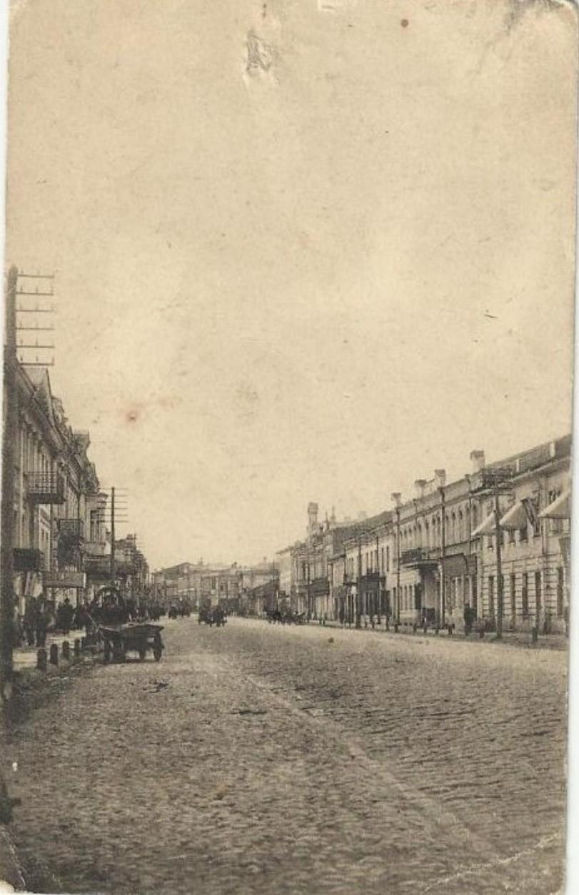 Рыбная улица от Харьковского моста