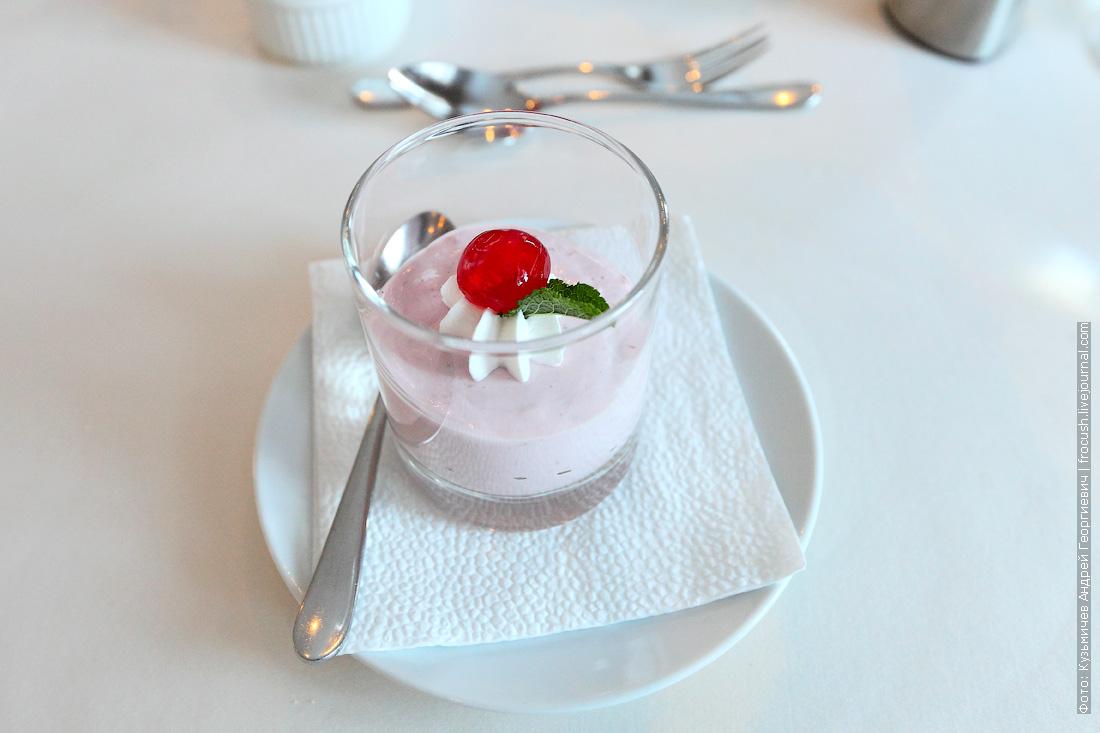 Десерт «Клубничная нежность»