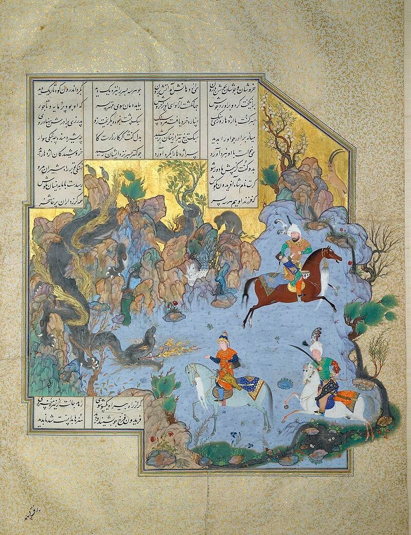 FOLIO_FROM_THE_SHAHNAMEH_OF_SHAH_TAHMASP,_ATTRIBUTED_TO_AQA_MIRAK,_CIRCA_1525-35,_Sotheby,s.jpg