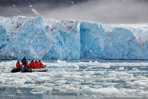 Любуясь ледником