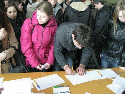 В Бельцах прошла 11 ежегодная ярмарка вакансий