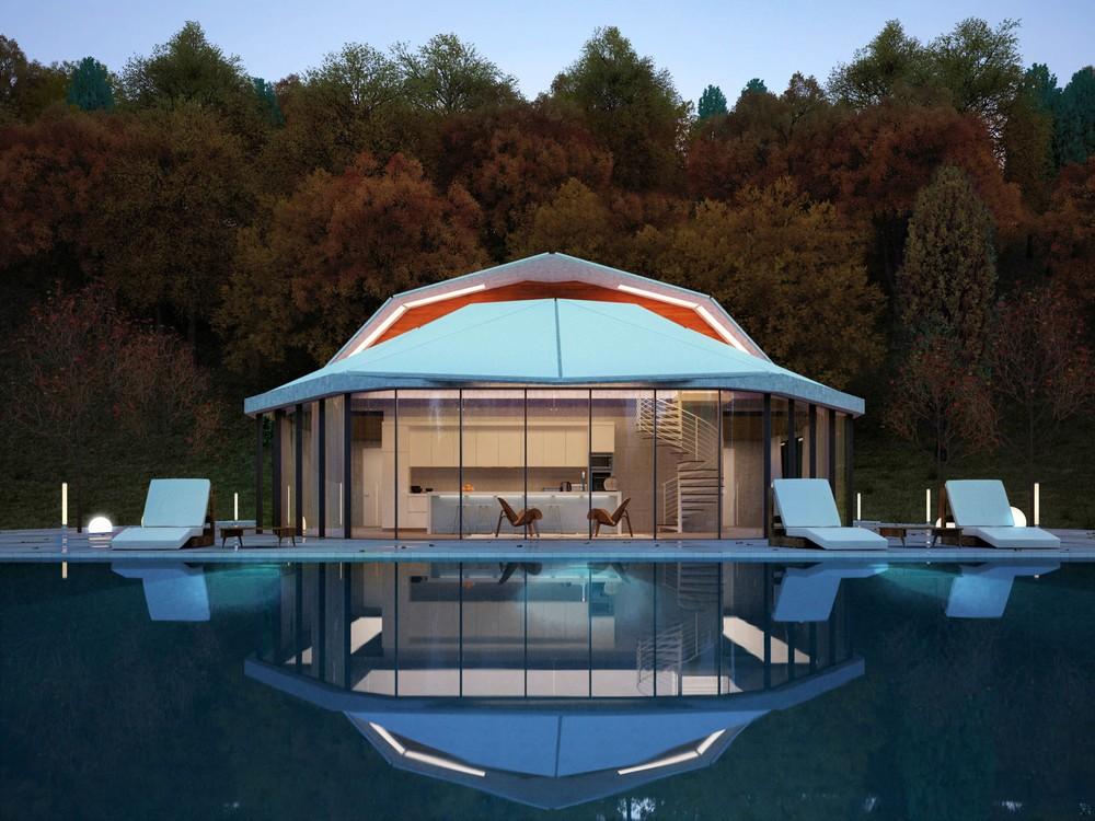 Мой дом – моя крепость: дом с навесом-«панцирем» в Казахстане