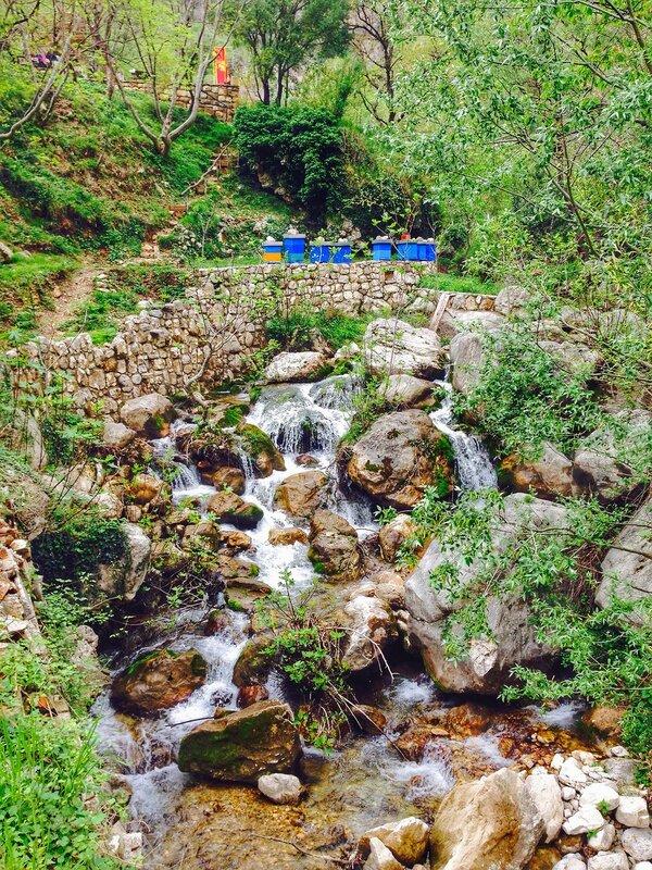 дорога от Будвы к Рыбняку