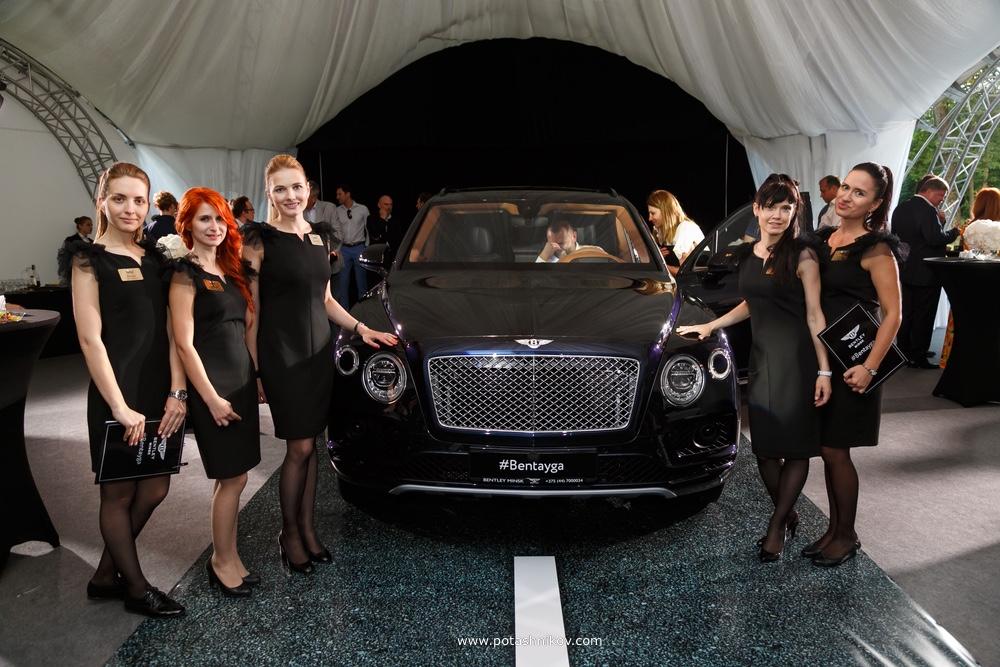 Презентация Bentley Bentayga в Минске. Самый дорогой кроссовер в мире показали в отеле Пекин