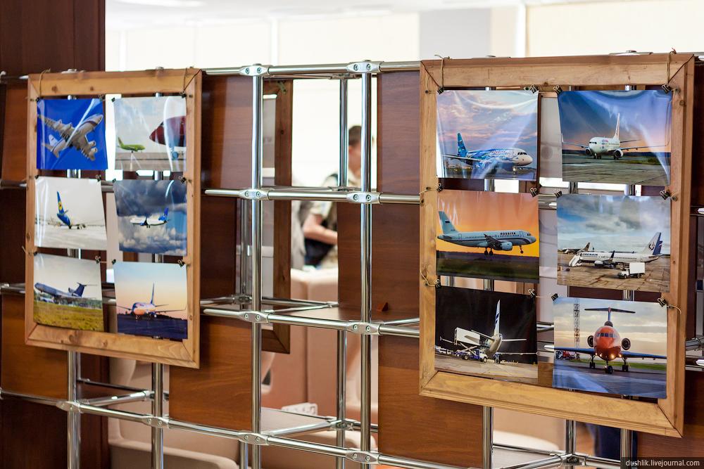 Открытие выставки фотографий в аэропорту «Челябинск»