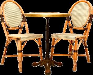 столик со стулом