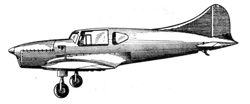 Силуэты итальянских самолетов (1939) 052