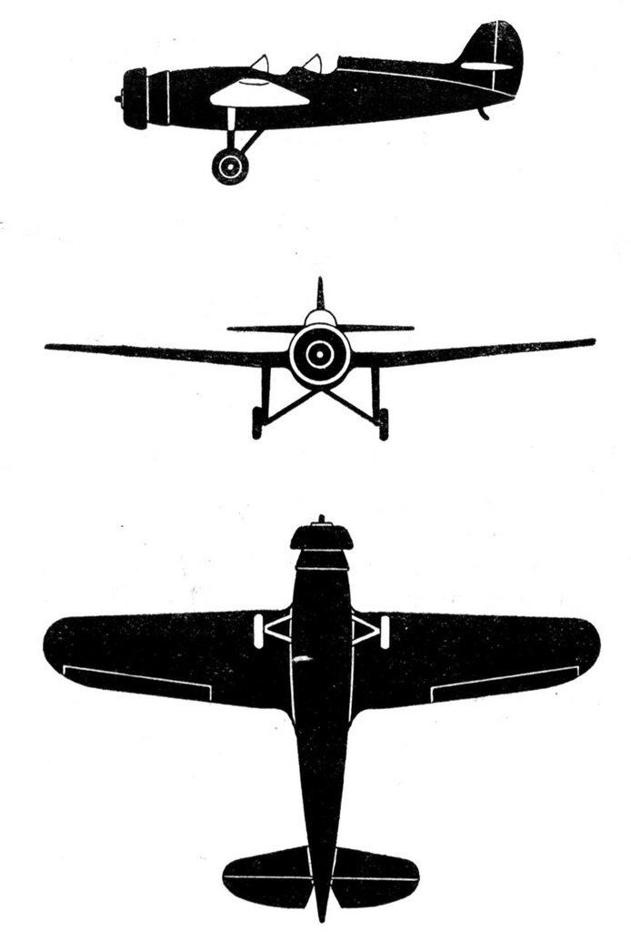 Силуэты итальянских самолетов (1939) 055