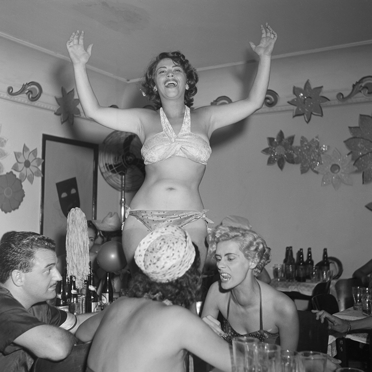 Как отрывались в 1953 году (23 фото)