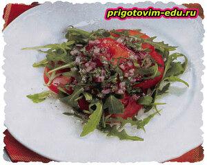 Итальянская салатная заправка