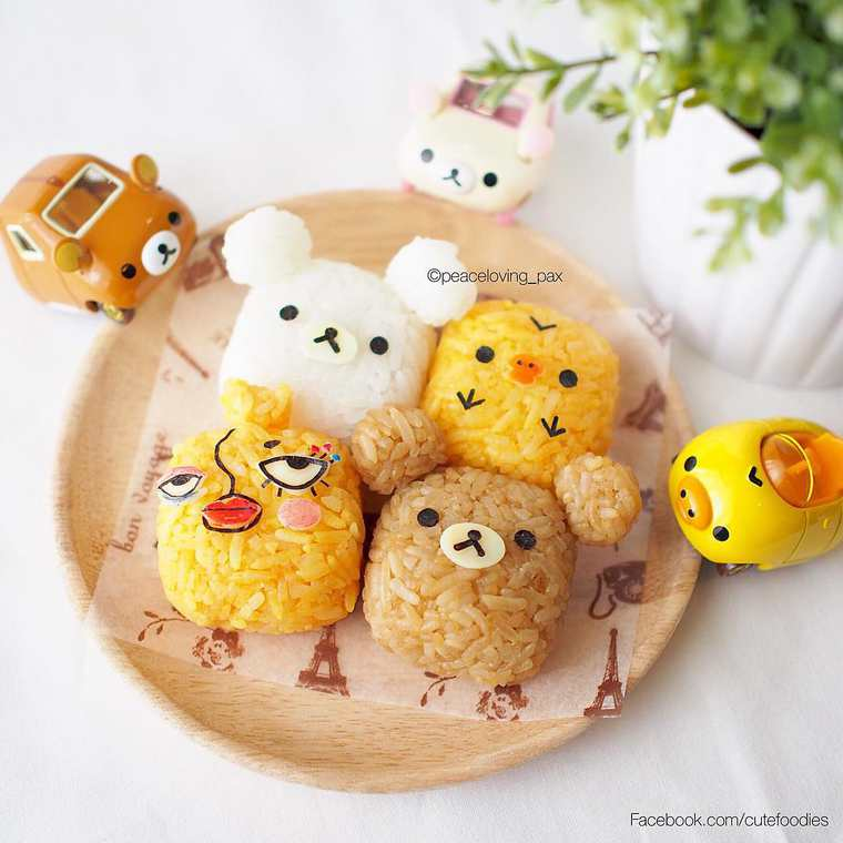 Kyaraben - Some adorable Japanese rice balls in tribute to Pop Culture