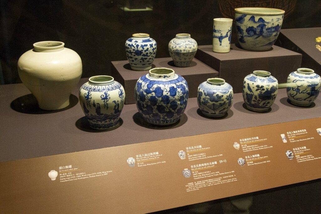Бело-голубая керамика, музей района Хайдянь