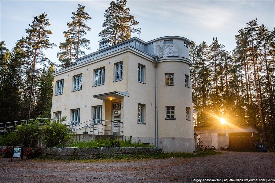 Как русские смотрели футбол в финском лесу