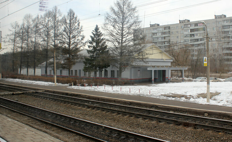 Платформа на станции Дулёво Большого кольца МЖД