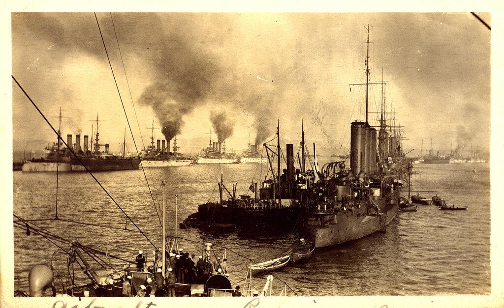 466042 Admiral Makarov in Gibraltar 1909.jpg