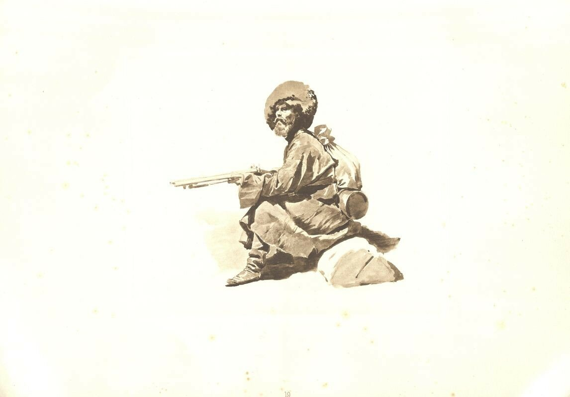 19. Охотник Кабардинского полка