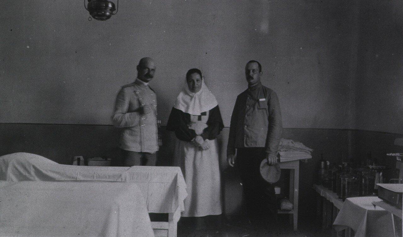 Кауфманский госпиталь Красного Креста №2. Операционная