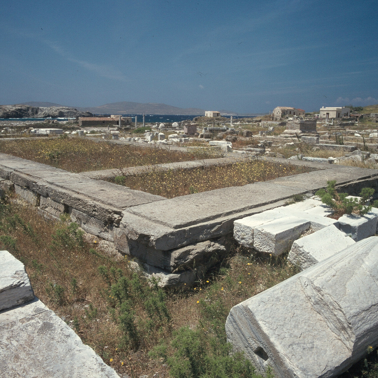 Делос. Храм Аполлона.