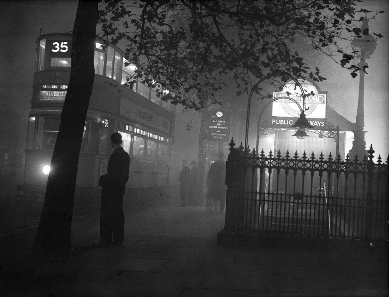 1938. Вход на станцию метро «Набережная»