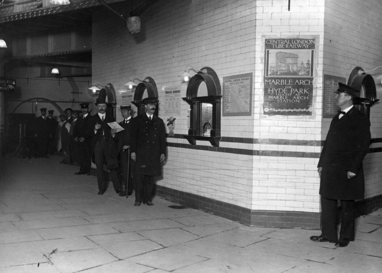 1912. Кассовый зал станции «Ливерпуль-стрит»