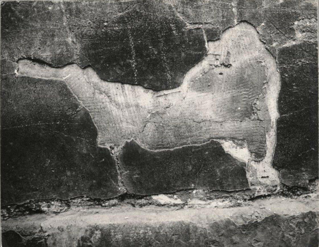 1932. Граффити. Лев (скрытое изображение)