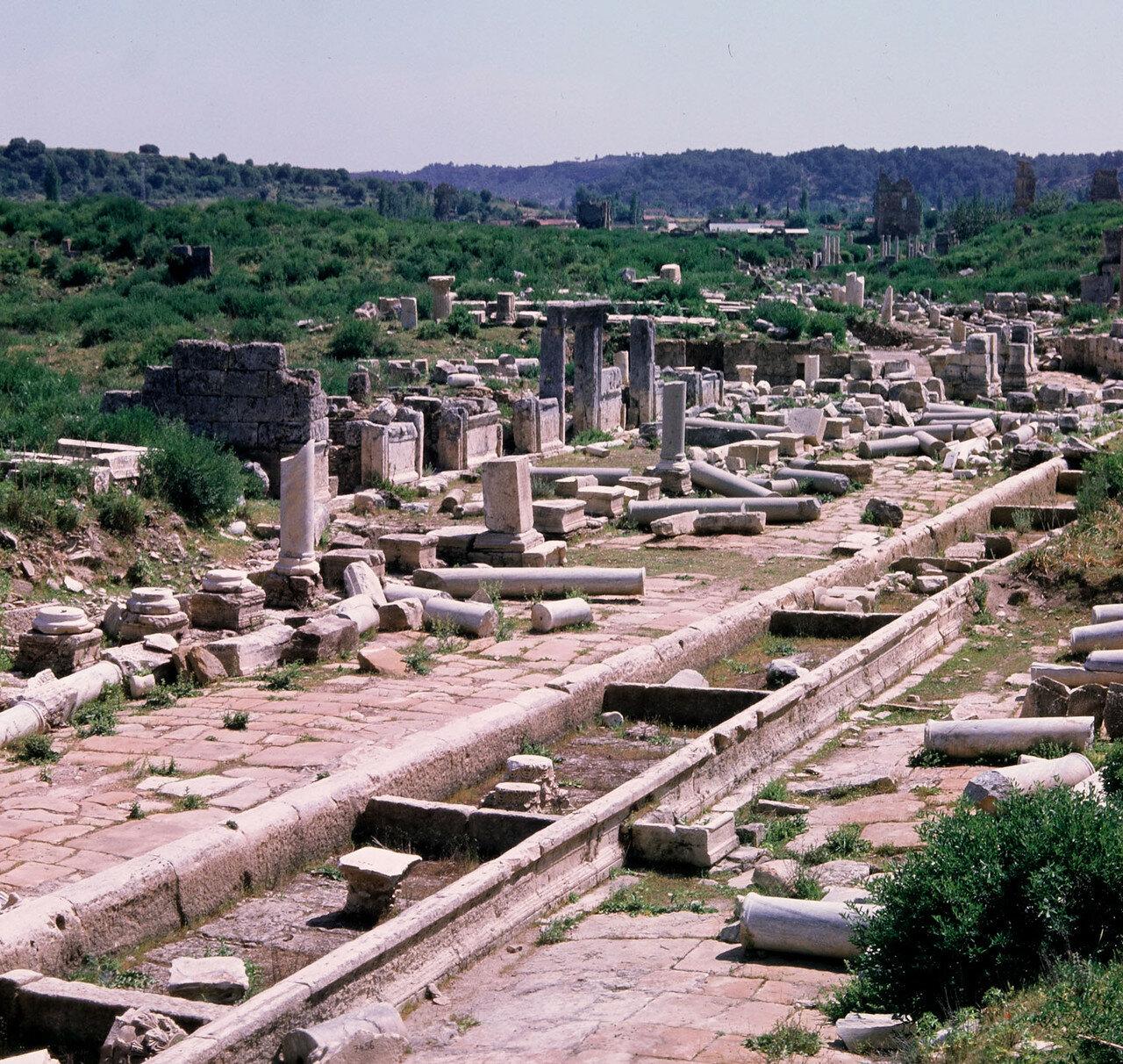 Перга.  Римская баня (II в.)