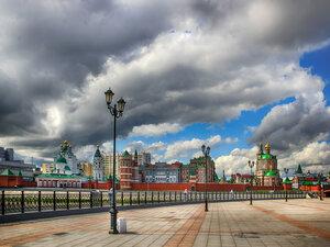 Вид с Патриаршей площади