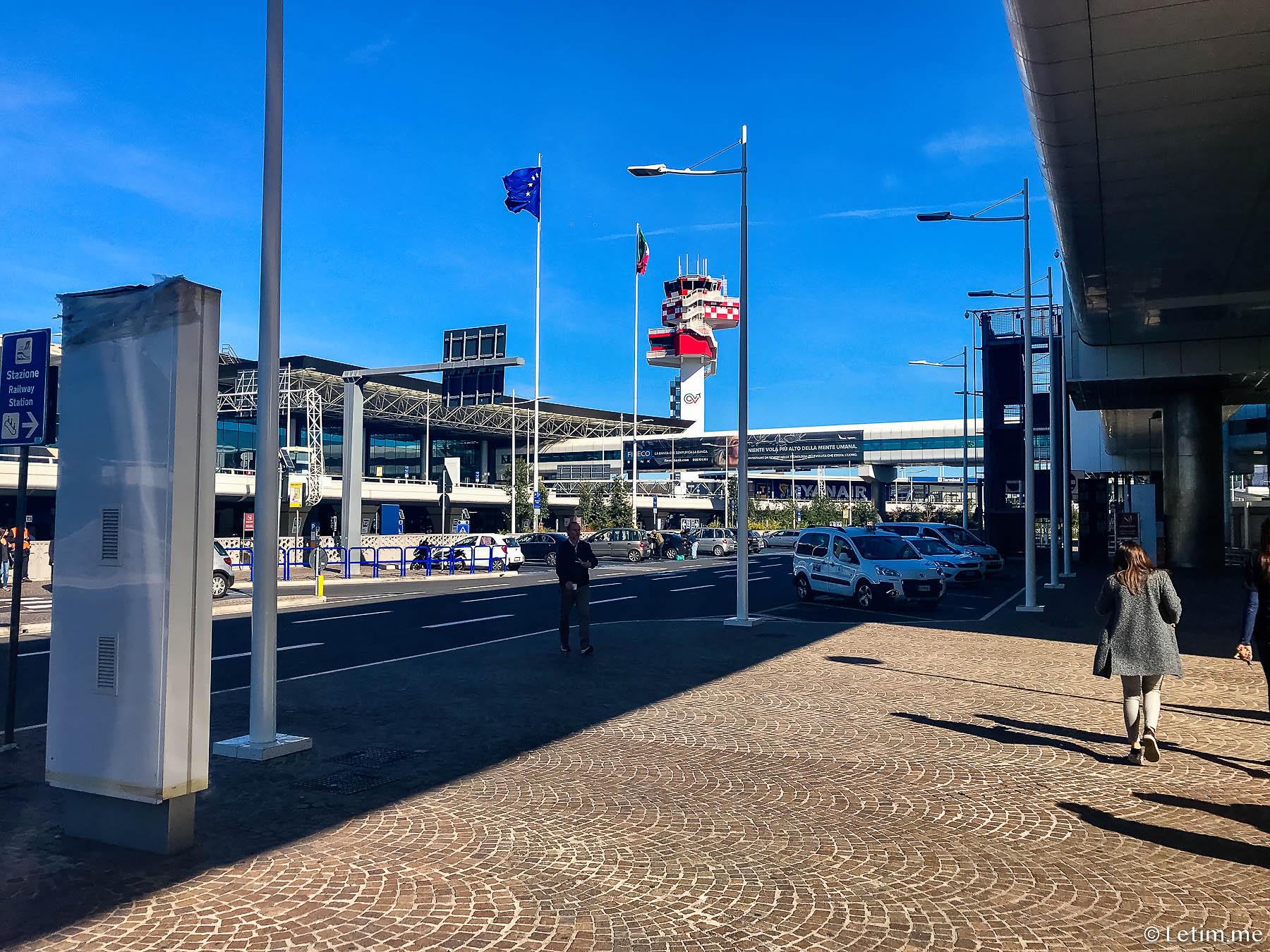 Аэропорт Фьюмичино(FCO). Рим