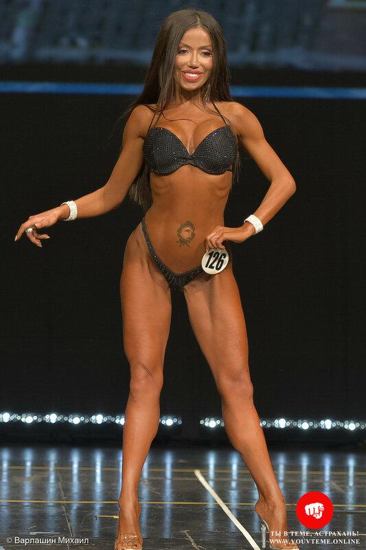 Категория: Фитнес-бикини мастера. Чемпионат и Первенство России по бодибилдингу 2017