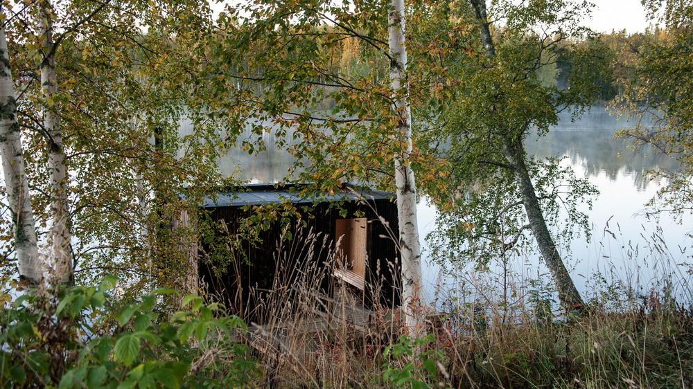 Отдых для души и тела: сауна на воде в Швеции