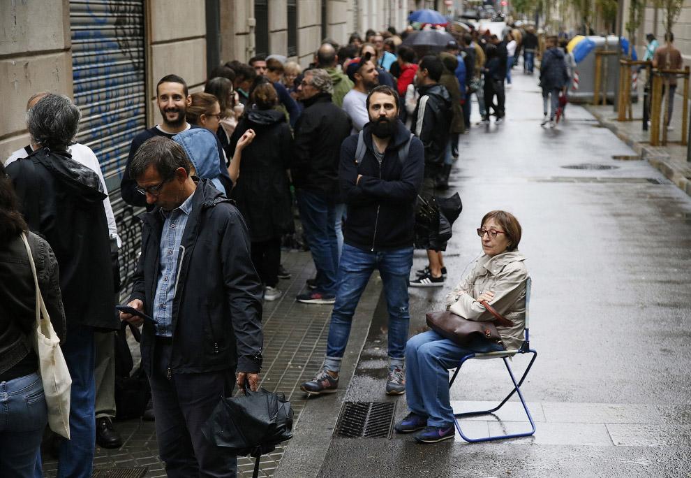 6. Разумеется, испанское правительство не признало референдум, и его проведение которого было «замор