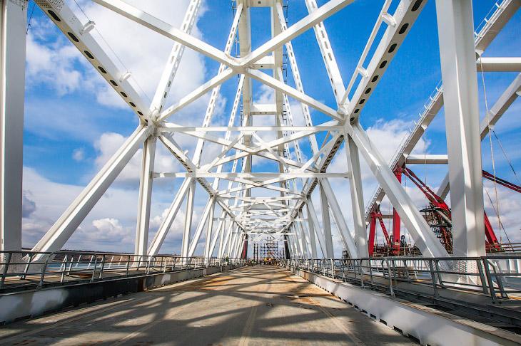 Стройка века, или как строят Крымский мост (48 фото)