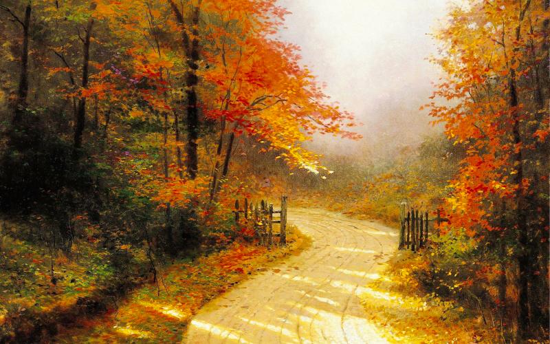 5 художников, влюбленных в осень