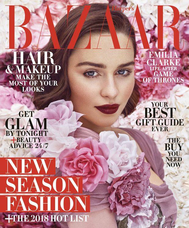 Эмилия Кларк в Harper's Bazaar