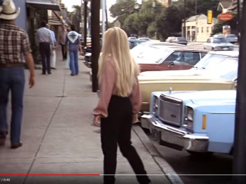 Блондинка ищет приключений