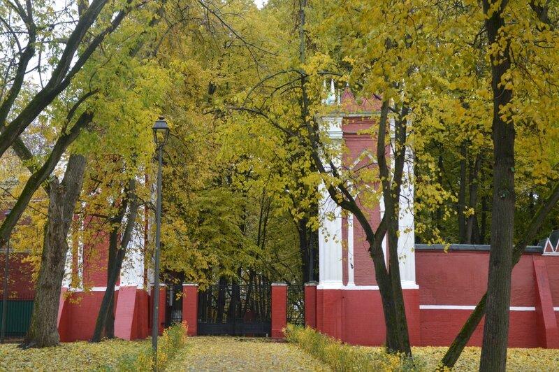 осень в усадьбе Михалково