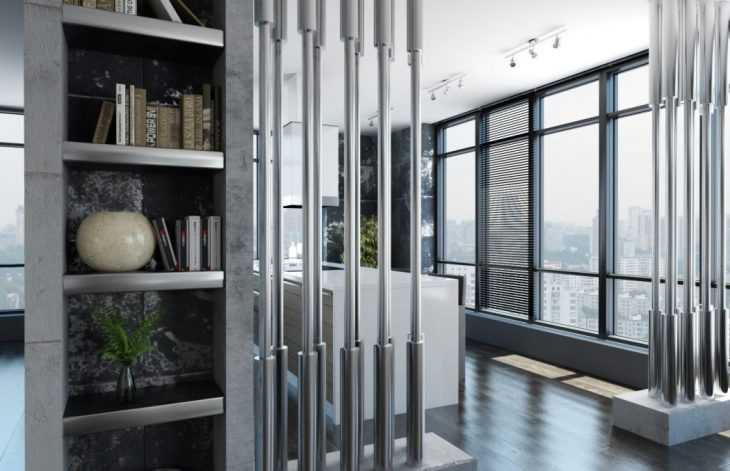 High-tech Apartment in St. Petersburg by AlexLoft